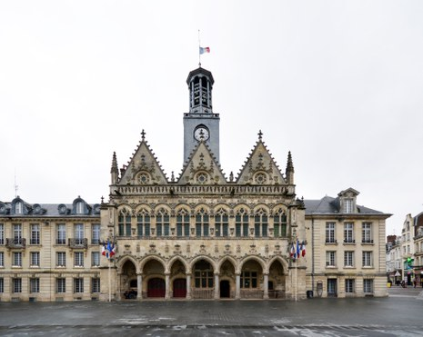 Rathaus in Saint-Quentin