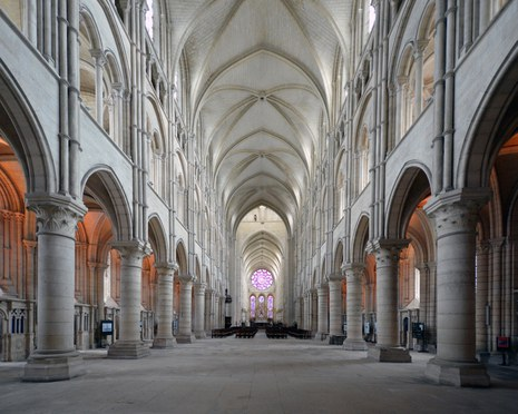 Kathedrale Notre-Dame in Laon, Mittelschiff