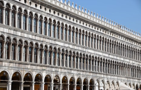 Procuratie vecchie am Piazza San Marco | Venedig, Venetien