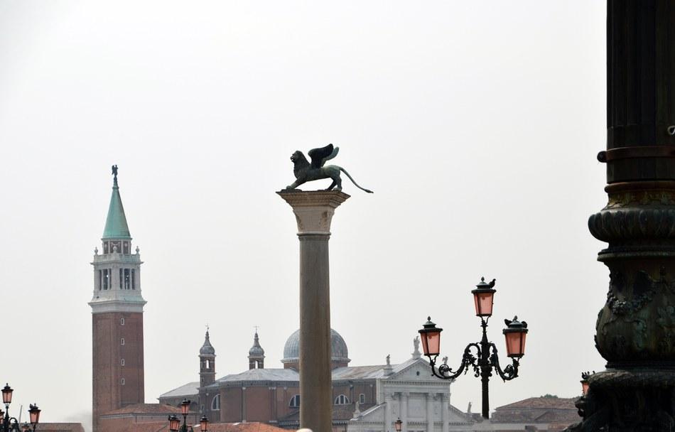 Blick vom Piazzetta S. Marco auf die Chiesa di San Giorgio Maggiore | Venedig, Venetien