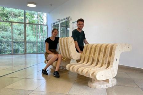 Projekt von Nina Gusenburger und Dominik Diehl