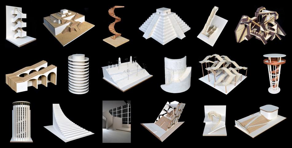 Modelle der Studierenden Stairways to ...