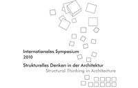 Symposium Strukturelles Denken in der Architektur