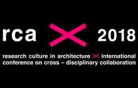 RCA 2018 – Research Culture in Architecture