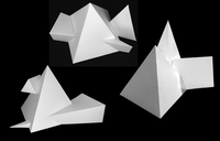 Intersection and Unfolding of Solids
