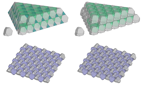 Tessellations and topological interlocked assemblies by Vera Viana
